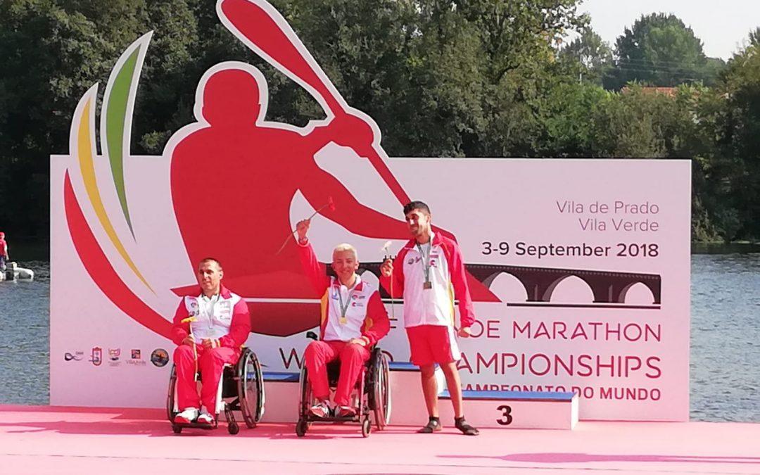 Pablo Diaz Vara y Adrián Martínez Torre campeones del mundo de Paracanoe