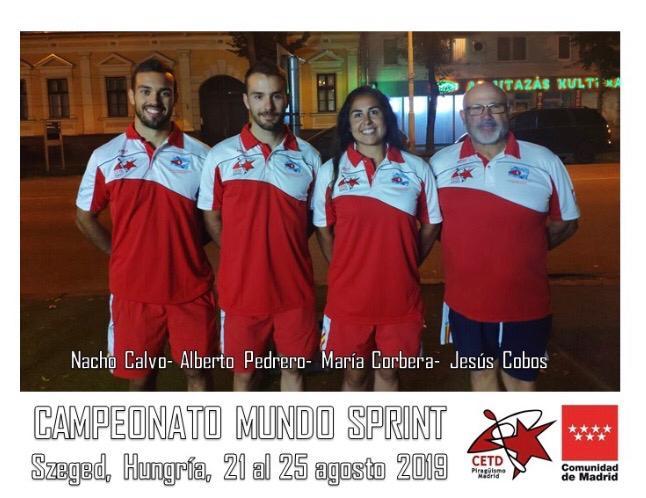 CAMPEONATO DEL MUNDO DE SPRINT (Szeged, Hungría – 21 a 25 agosto 2019)