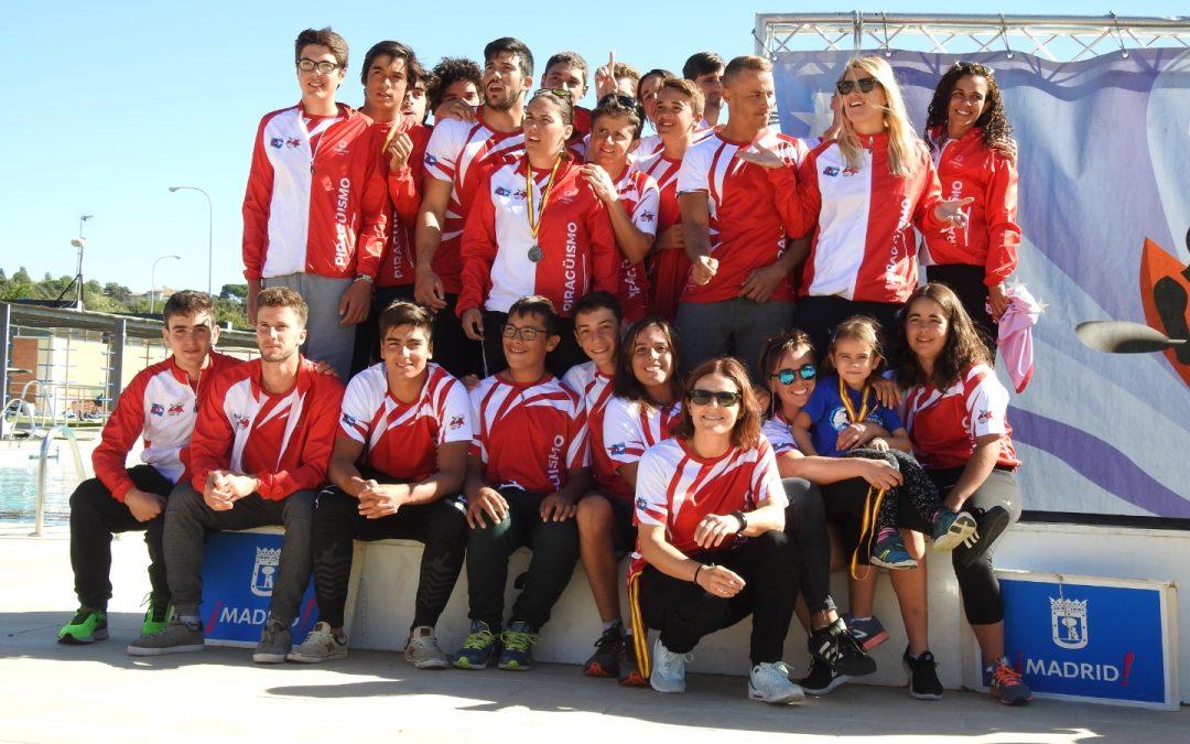 Madrid subcampeona en el Cto. de España por Autonomías de Kayak Polo
