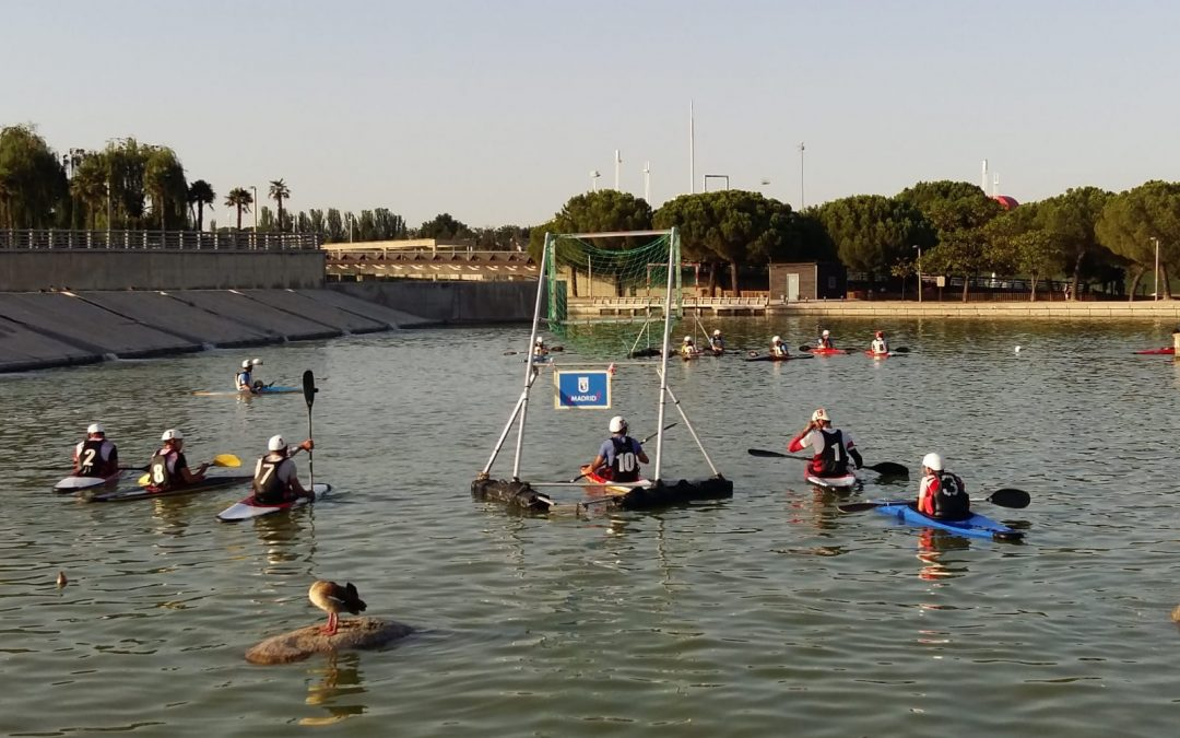 XIV TROFEO MADRID KAYAK POLO (06.08.2020): segundo Torneo de Kayak Polo Madrid Máxima Categoría [COVID]