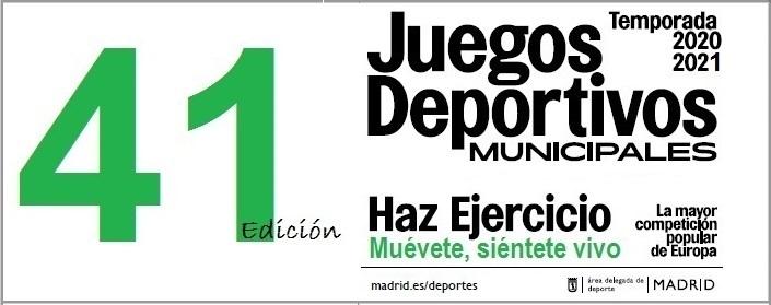 Juegos Deportivos Municipales 2020-2021