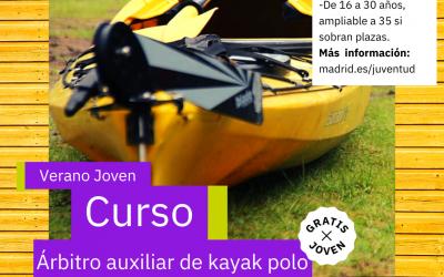Árbitro Auxiliar de Kayak Polo 2021 (Verano)