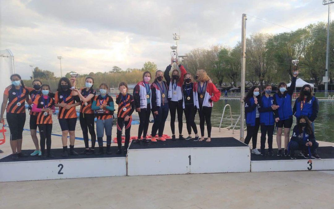 Tres equipos madrileños en el podium de la Copa de España Sub-16 Femenino