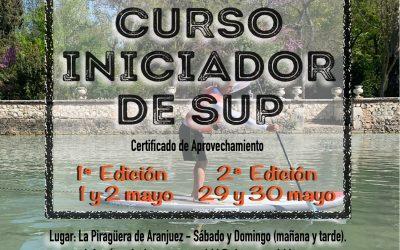 Curso Iniciador SUP (mayo 2021)