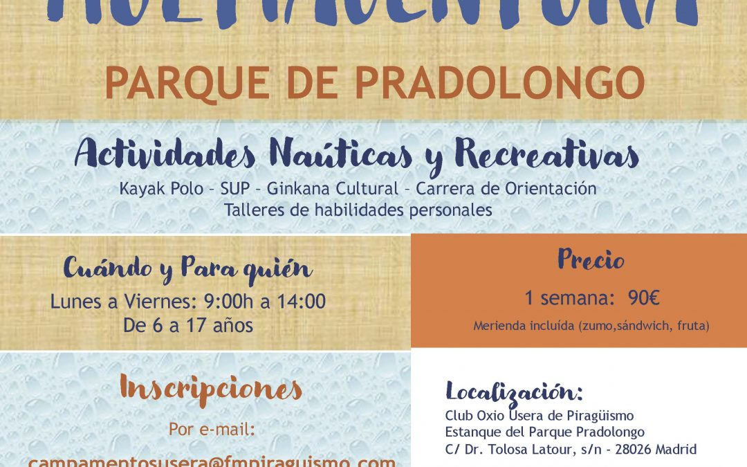 Campamento Multiaventura Pradolongo