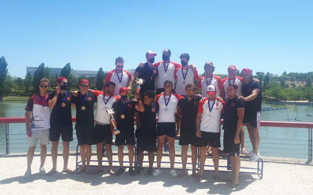 Final madrileña en la Copa de España de Kayak Polo