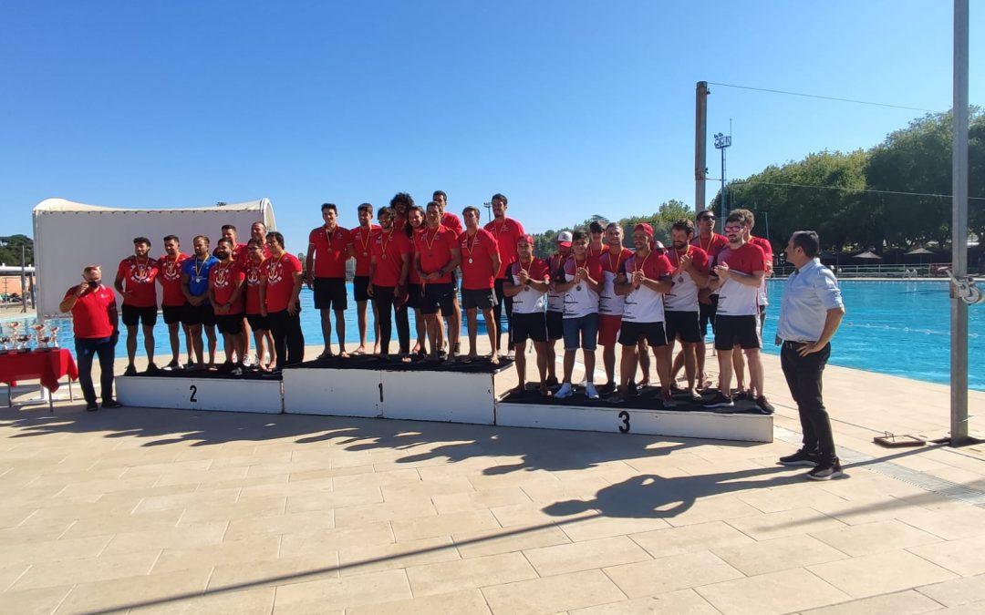 "Podium Madrileño en el ""XXVI Campeonato de España de Kayak Polo 2021"""