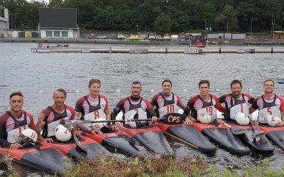 Club Vallehermoso Retiro en el Campeonato de Europa de Kayak Polo
